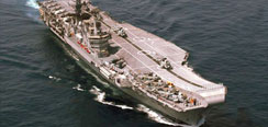 Indian Navy - INS Viraat Aircraft Carrier